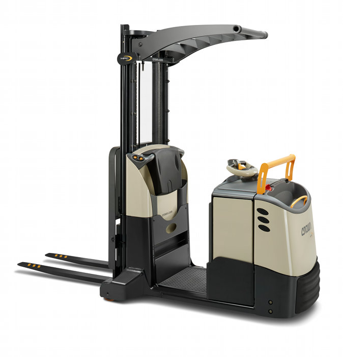 HSS - Forklift combines order picker and counterbalance functions