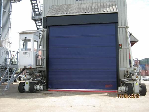 They ... & HSS - Port of Tyne deploys Speedor Storm doors