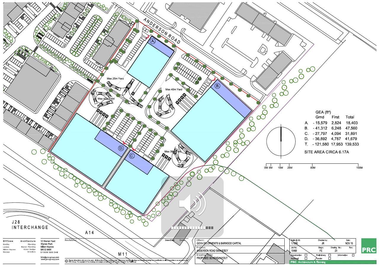Hss cambridge spec build warehouse plan unveiled for Spec home business plan